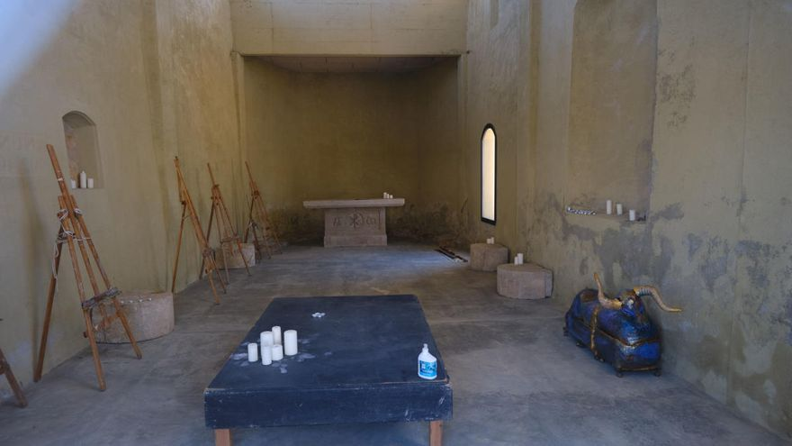 Sant Pere promou la capella de Sant Sebastià per divulgar el patrimoni