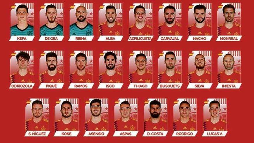 Marco Asensio estará en el Mundial