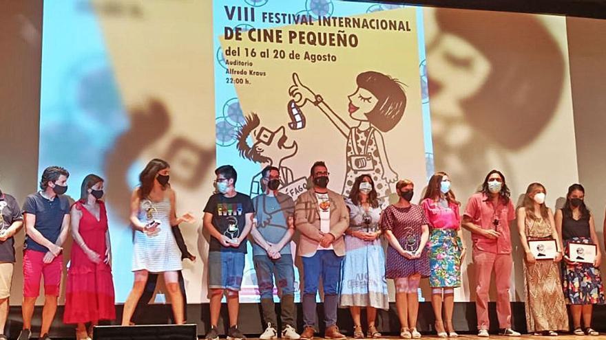 El festival de cine de Aspe entrega sus premios