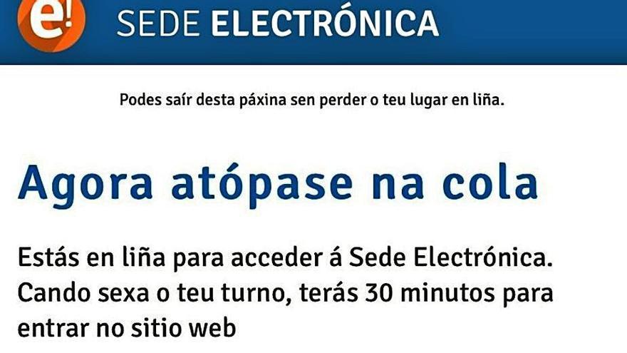 Colapso en la web de la Xunta para gestionar los bonos turísticos, que se agotan en 12 horas
