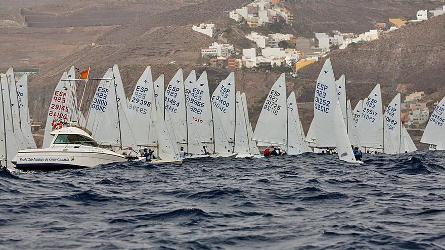 La flota canaria domina  el Nacional absoluto  de la clase Snipe