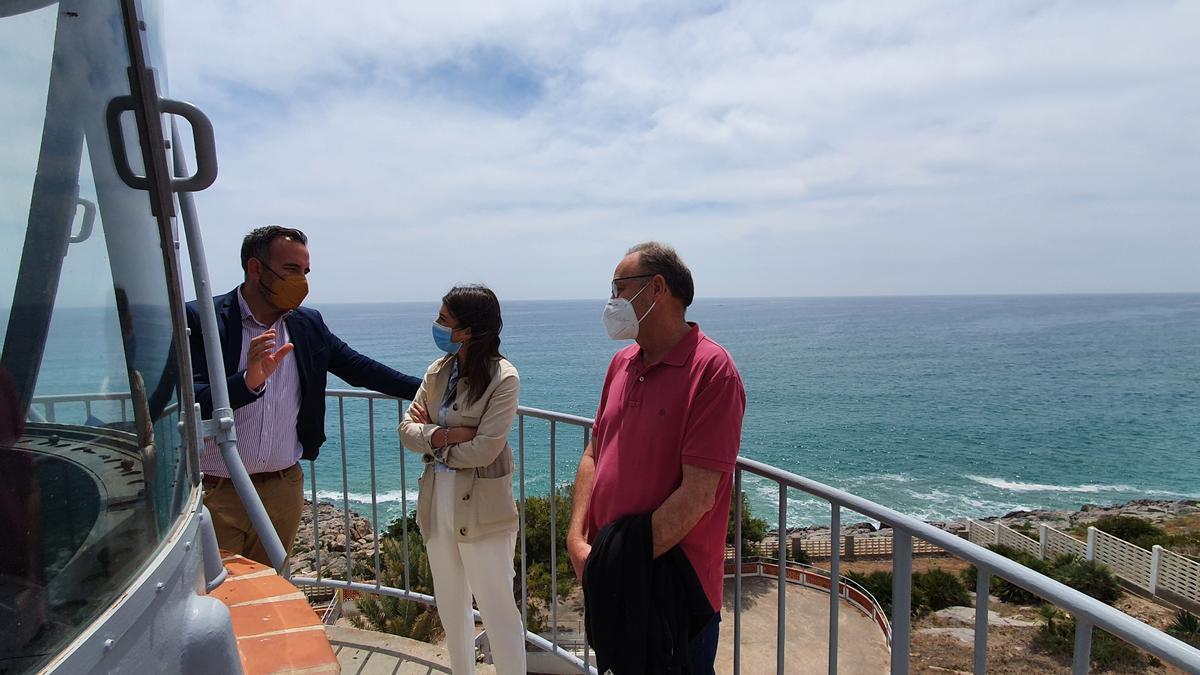 Visita de Rafa Simó a la alcaldesa María Jiménez