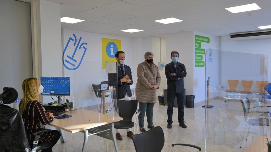 El Cabildo de La Palma abre oficinas en Los Llanos de Aridane