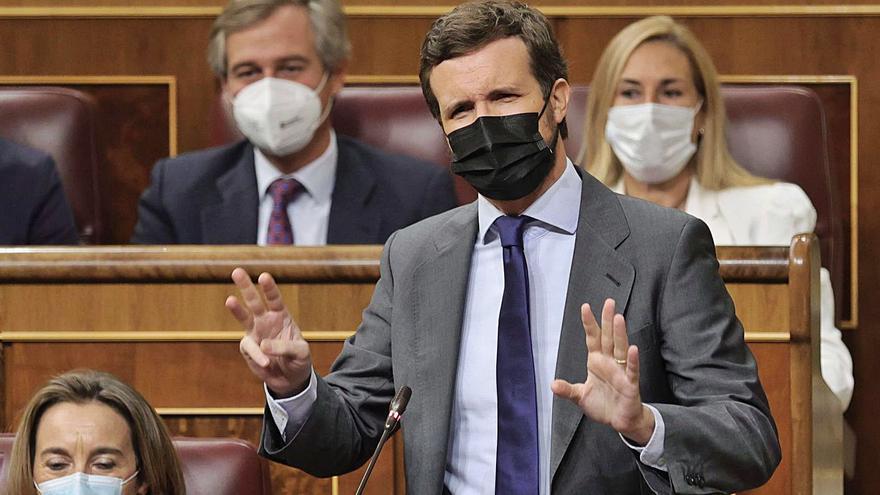 El PP registra aquest dimarts una esmena a la totalitat contra els pressupostos de Sánchez