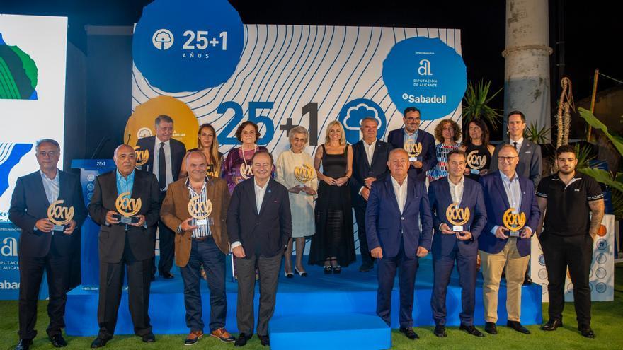 Aefa celebra su 25º aniversario en una gala conmemorativa
