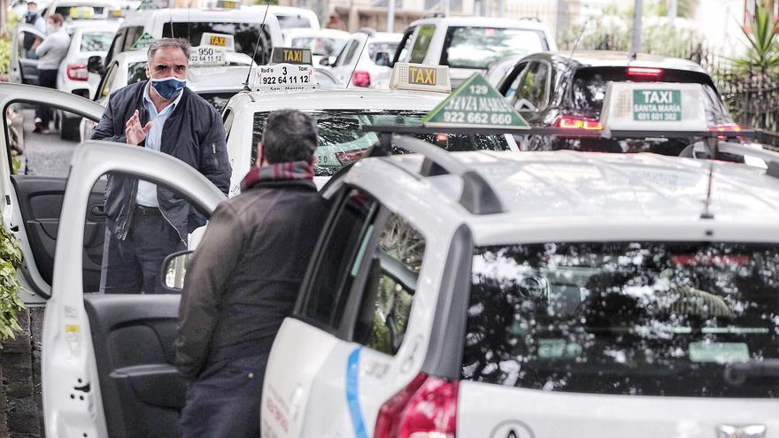 ¿Quién dijo huelga de taxistas?
