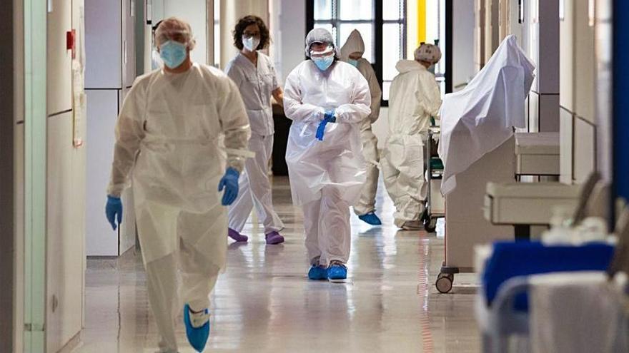 El número de pacientes covid ingresados en Ibiza ya es el más bajo desde antes de la tercera ola