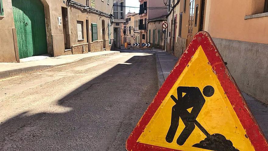 Unas obras en Andratx afectarán al tráfico hasta finales de febrero