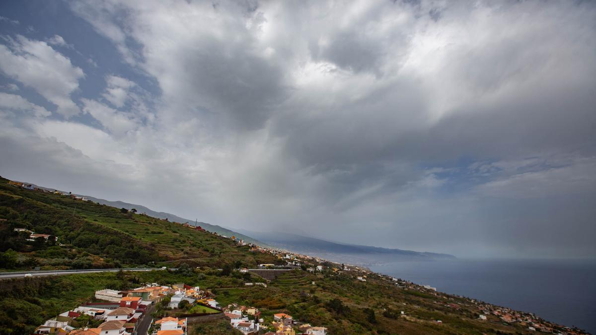 Una imagen reciente del paisaje del norte de Tenerife.