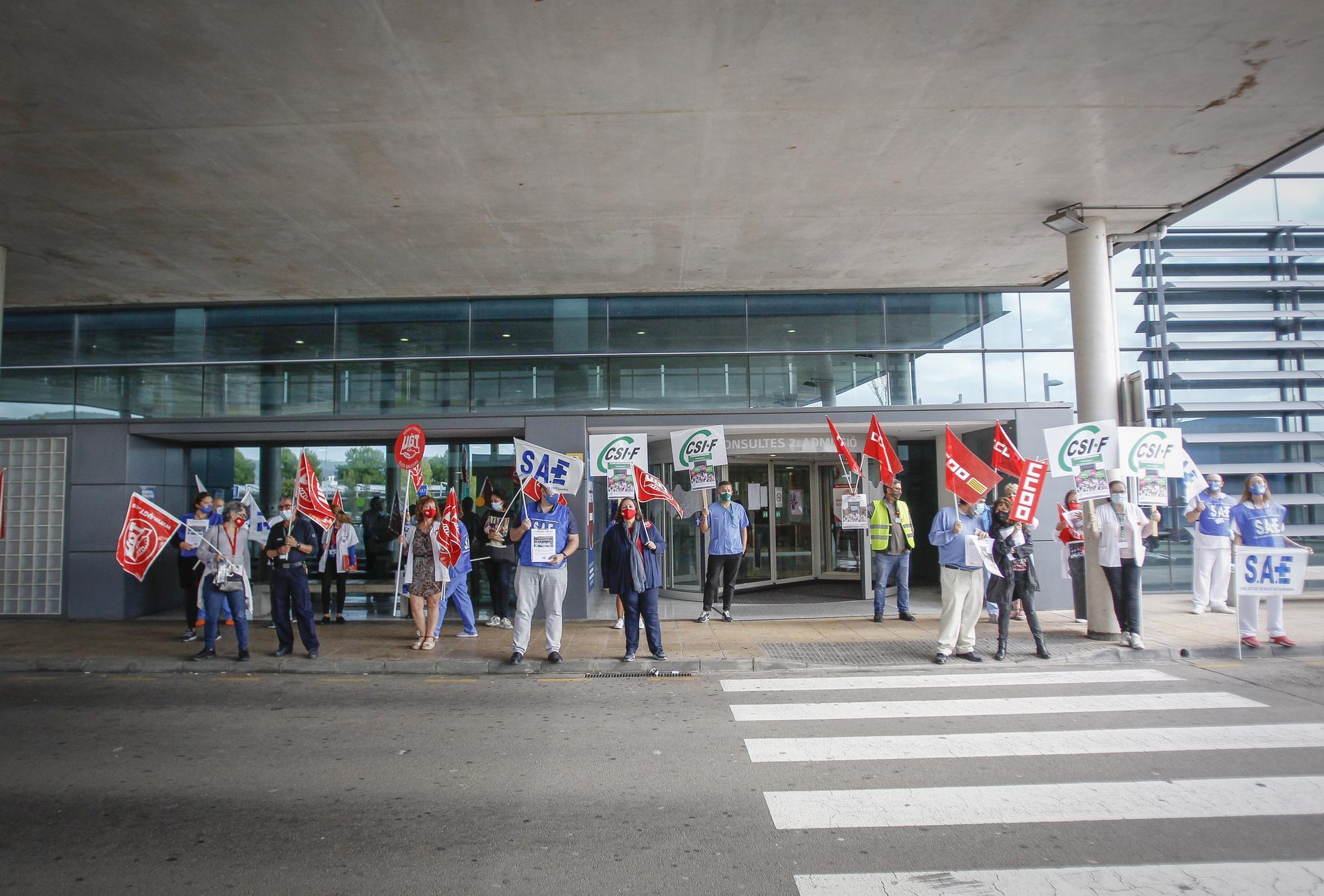 Los sindicatos de Baleares exigen contrataciones de sanitarios