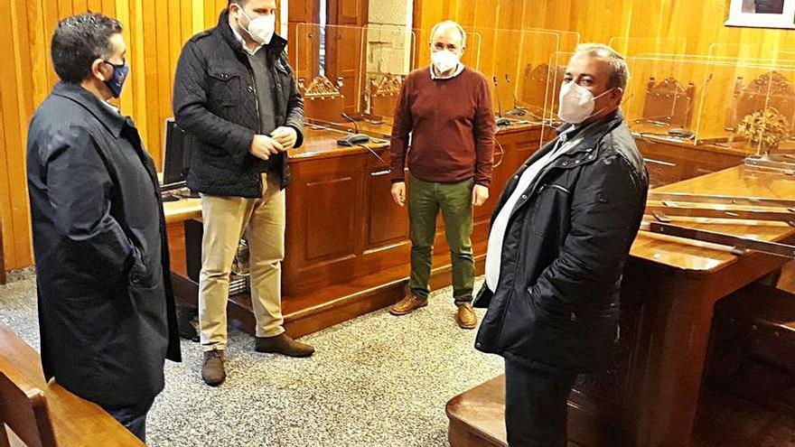 Cerdedo-Cotobade teje sinergias con ayuntamientos vecinos para concurrir a fondos europeos