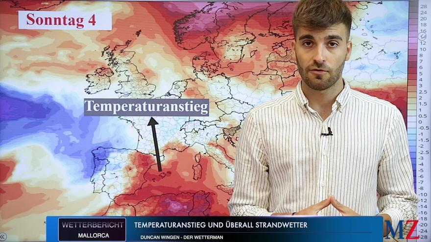 Die Wettervorhersage für das Wochenende auf Mallorca vom 2. bis zum 4. Juli