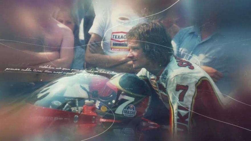 Suzuki lanza un vídeo de la restauración de las motos de Barry Sheene