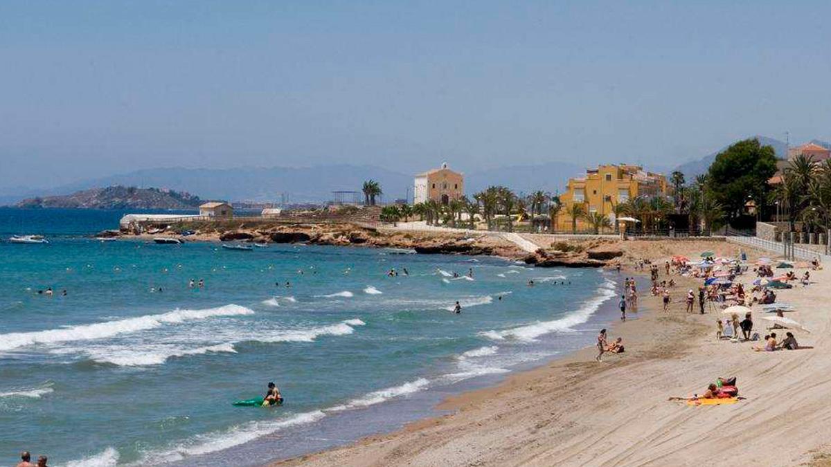 Isla Plana, playa de Cartagena