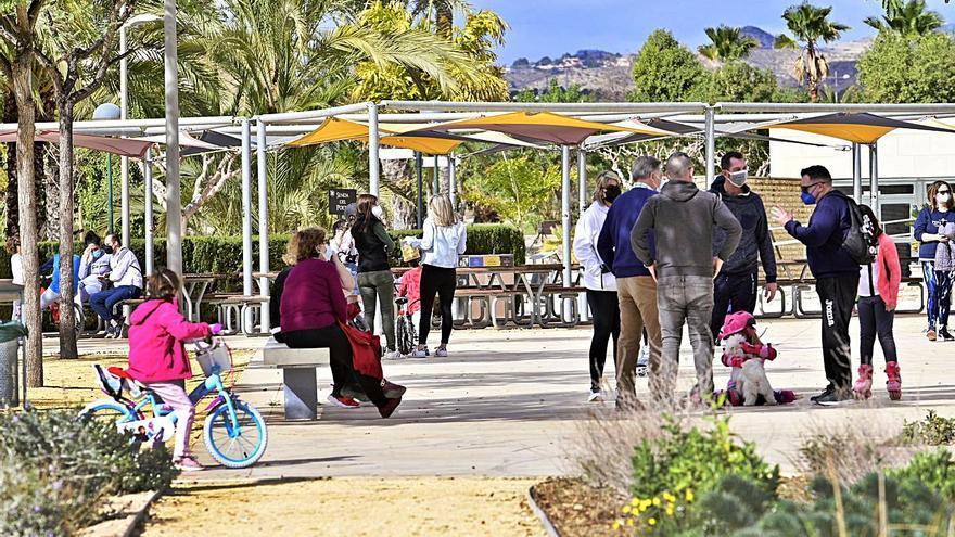 La UMH de Elche se transforma en un parque para todos
