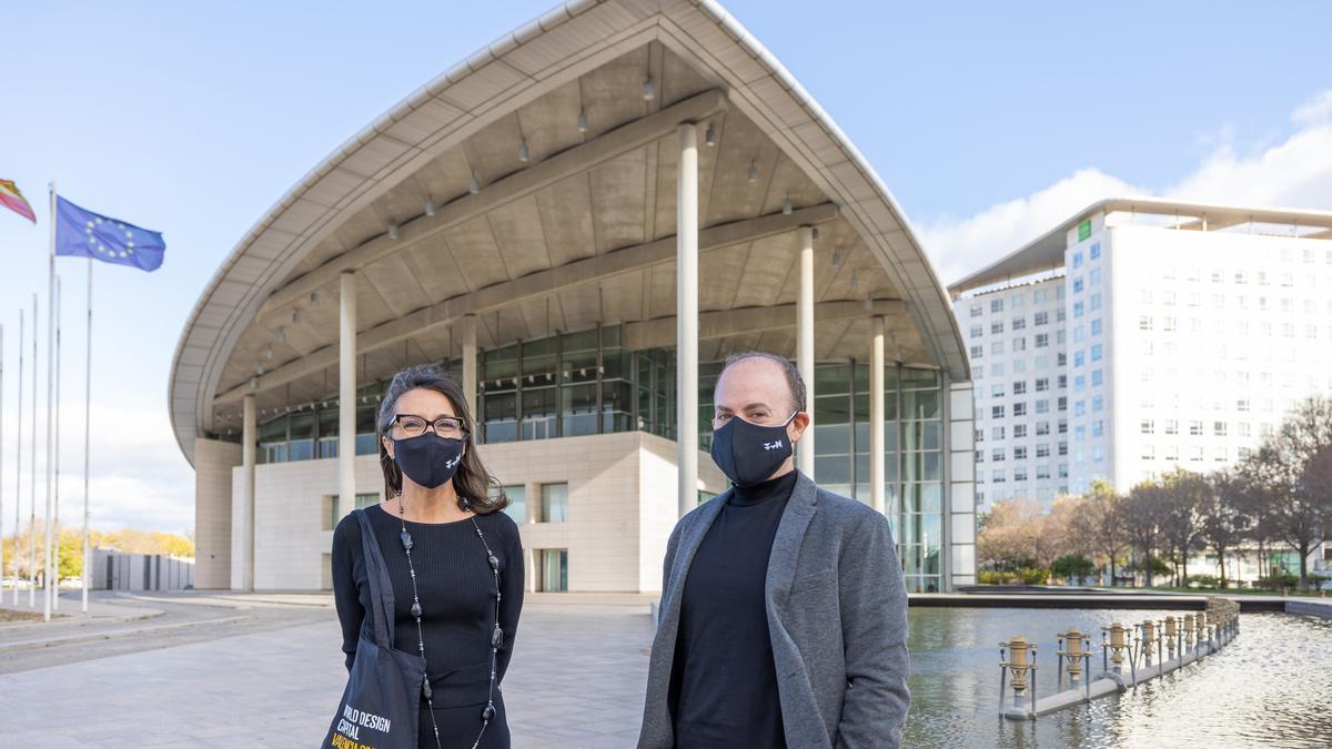 COMUNIDAD VALENCIANA.-El Palacio de Congresos y València Capital Mundial del Diseño 2022 se alían para la promoción internacional de la ciudad