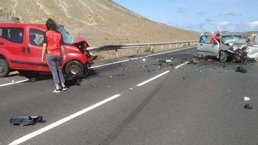 Las carreteras canarias registran cuatro muertes en nueve días