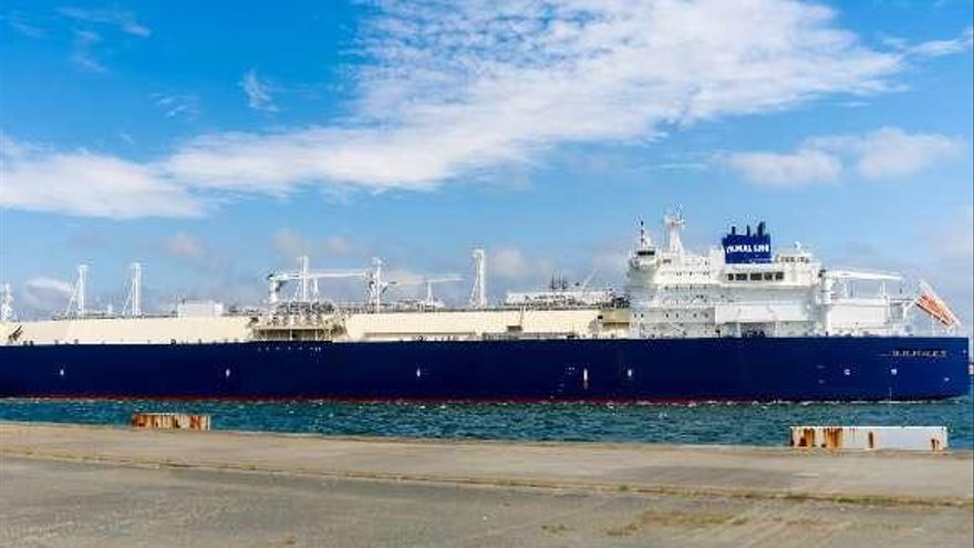 Fenosa realiza en Reganosa la primera descarga en España de gas ruso