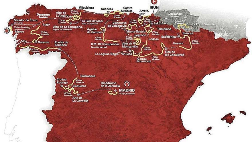 La Vuelta incorpora a Zamora y Salamanca en su recorrido