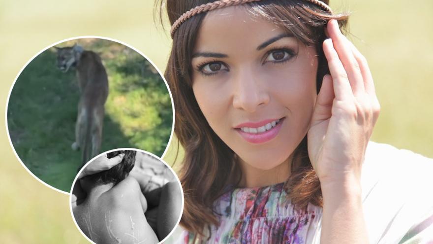 La cantante Raquel del Rosario salva a su hijo de un puma