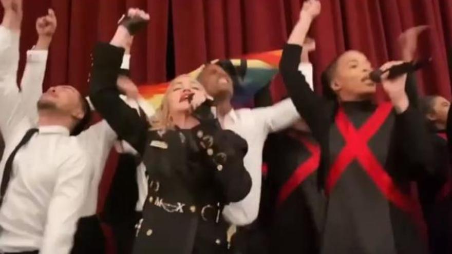 """El susto de Madonna durante un concierto en Londres: """"¡Qué os jodan, hijos de puta!"""""""
