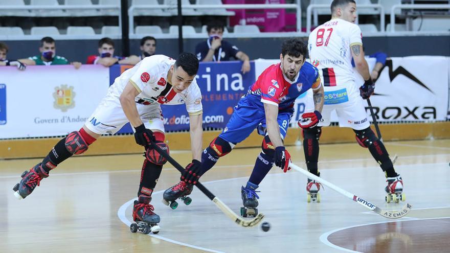 L'Igualada Rigat deixa escapar dos gols de renda i queda fora de la competició europea (3-2)