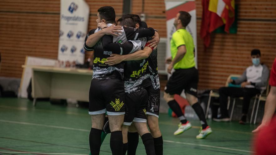 Victoria del River FS y empate del InterSala Zamora