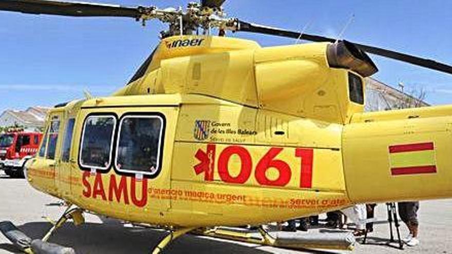 Ultimátum del Sepla al Govern para que aclare si los vuelos del 061 son seguros