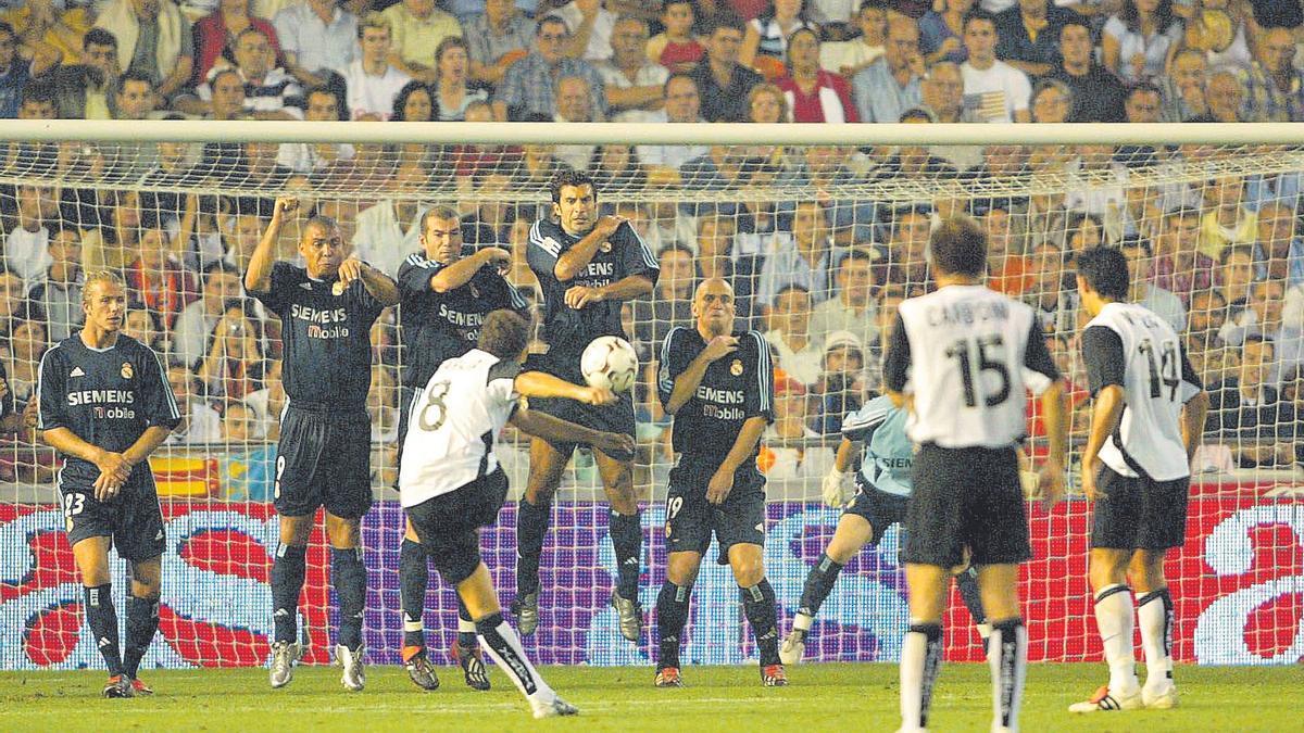 Valencia-Real Madrid, historia de Mestalla
