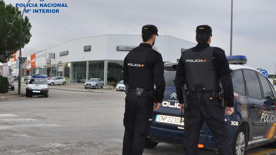Dos detenidos por once robos en naves industriales de Can Valero y Son Castelló