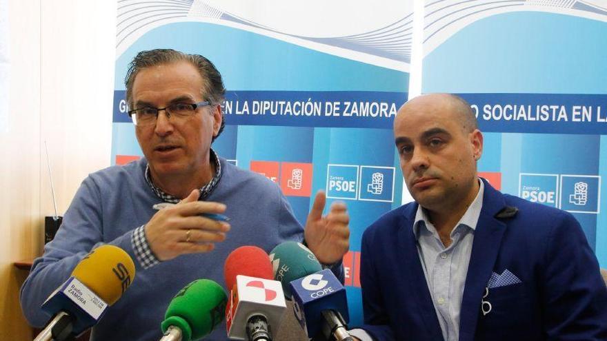 """El PSOE censura la """"falta de transparencia"""" en la Diputación"""