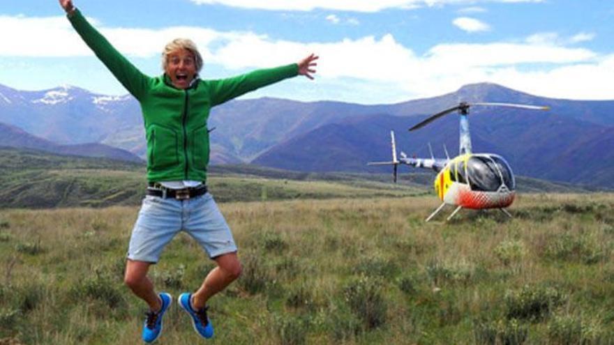 Jesús Calleja regresa con la cuarta temporada de 'Volando voy'