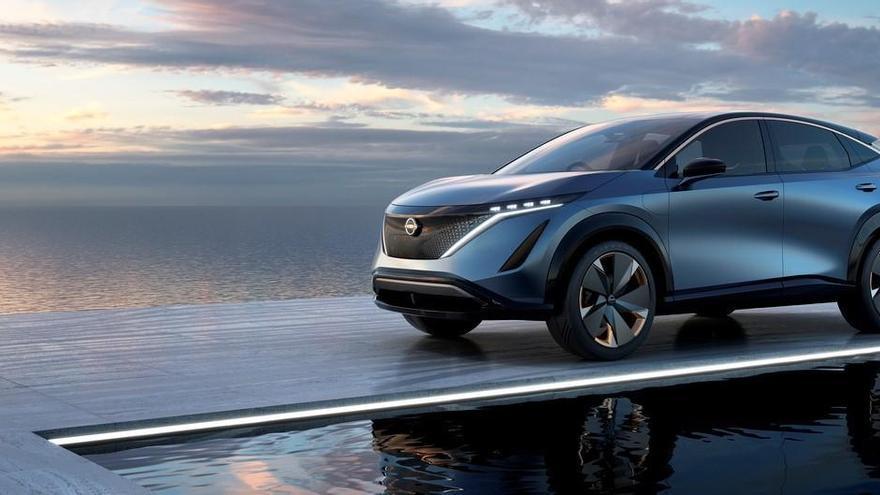 Ariya Concept, el futuro eléctrico de Nissan