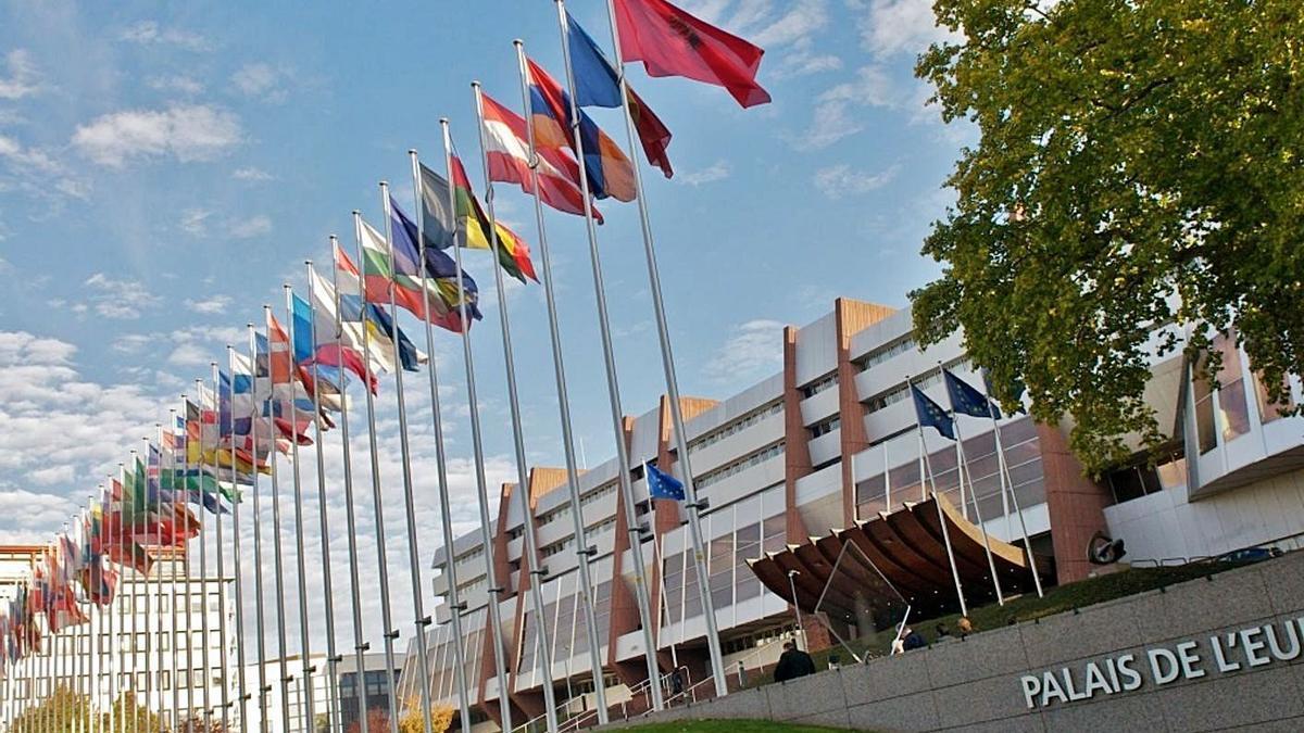 Seu del Consell d'Europa a Estrasburg   EP