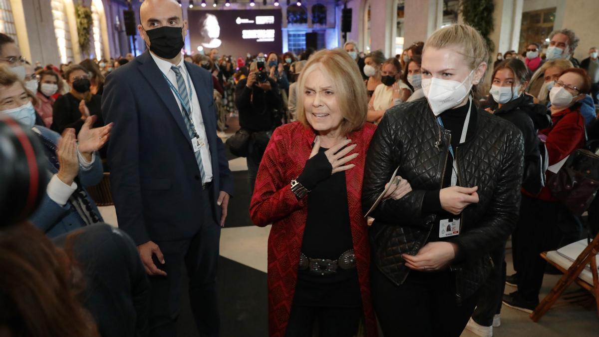 """Gloria Steinem, en La Vega: """"Con 87 años he conseguido la libertad"""""""