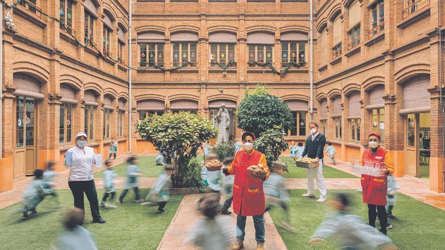 Conoce el programa exclusivo que Serunion tiene en los comedores escolares de Alicante