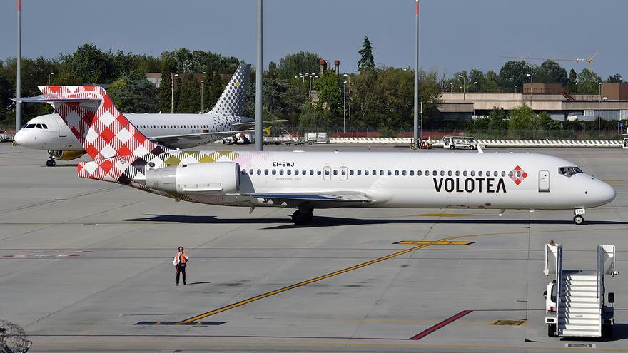Volotea abre dos rutas más entre Murcia y el norte de España