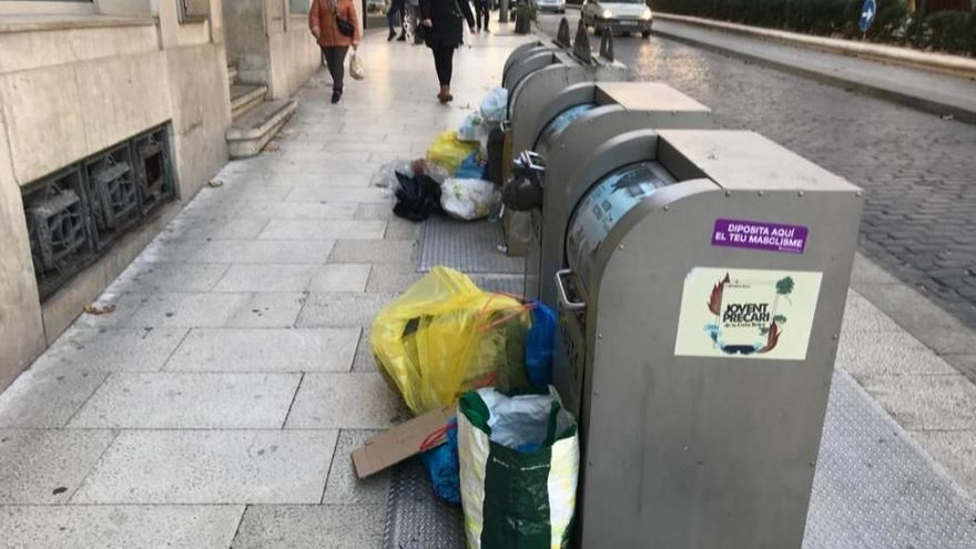 Treballadors de la neteja de Figueres ajornen la vaga per seguir negociant