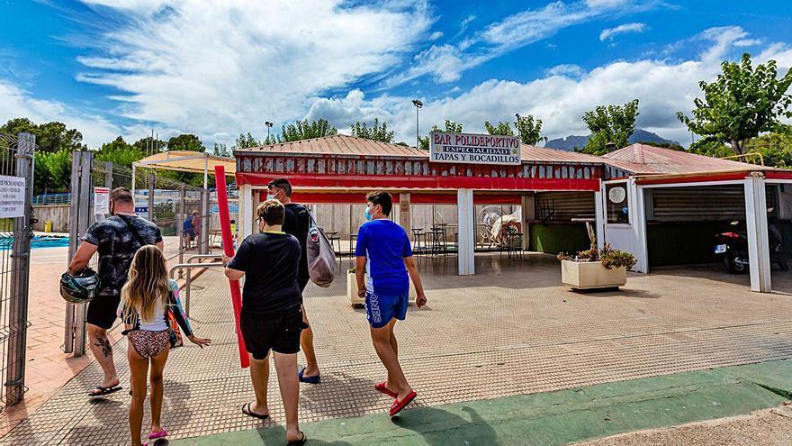 Benidorm reabrirá en unos días los bares del polideportivo tras 18 meses sin servicio