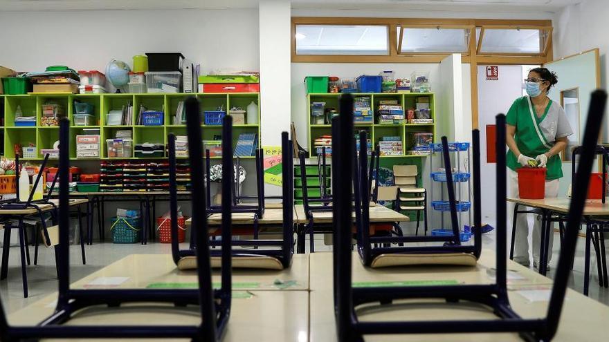 Educación crea una comisión de seguimiento del impacto de la Covid-19 en las aulas