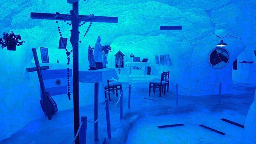 Una capilla de lo más singular