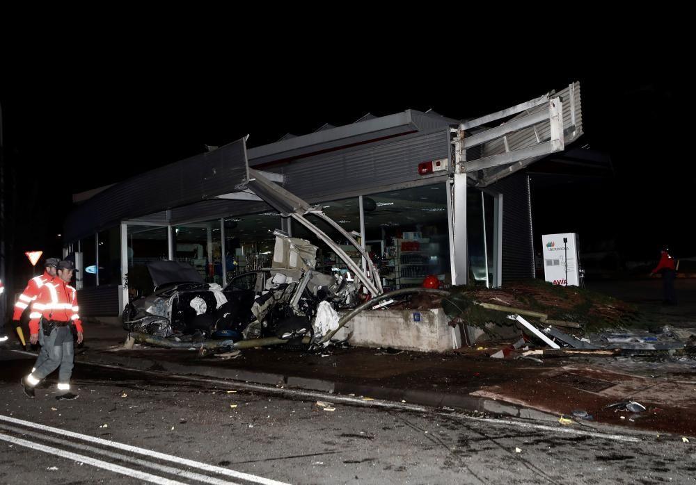 Accidente de autobús en Navarra.