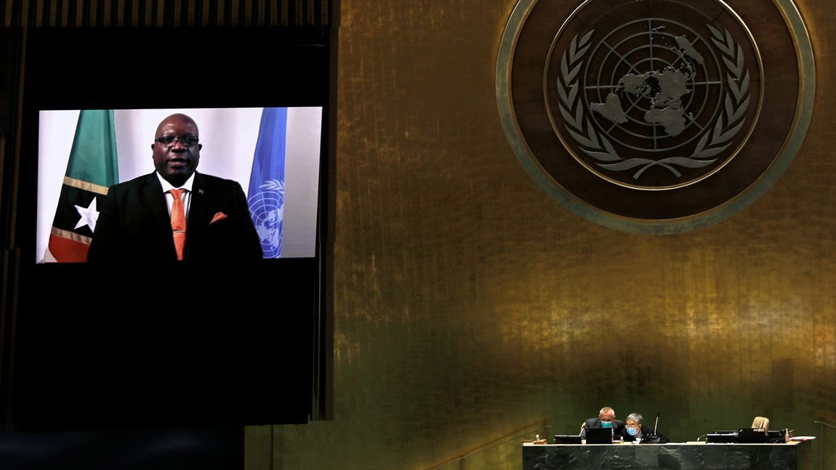 Un instante de la Asamblea de la ONU.