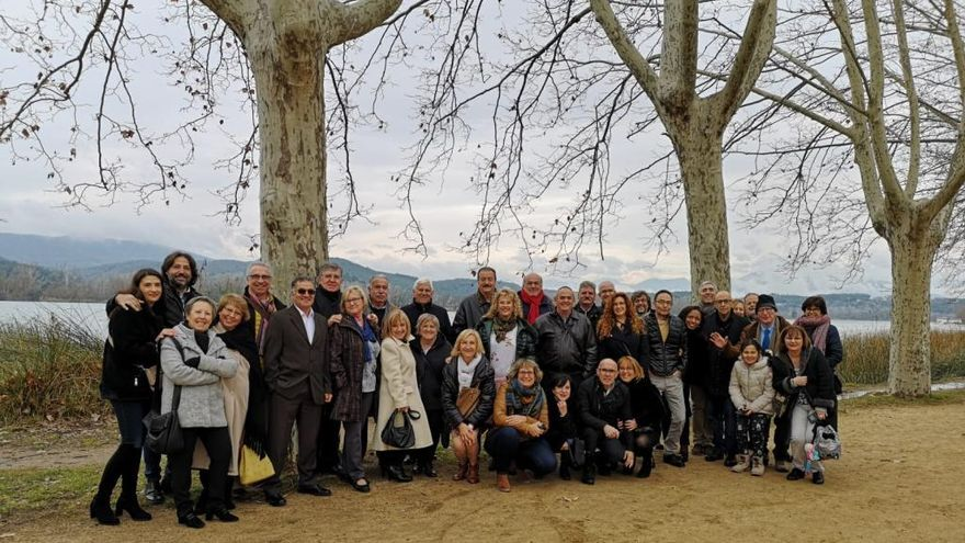 Homenatge als jubilats de Correos de Girona