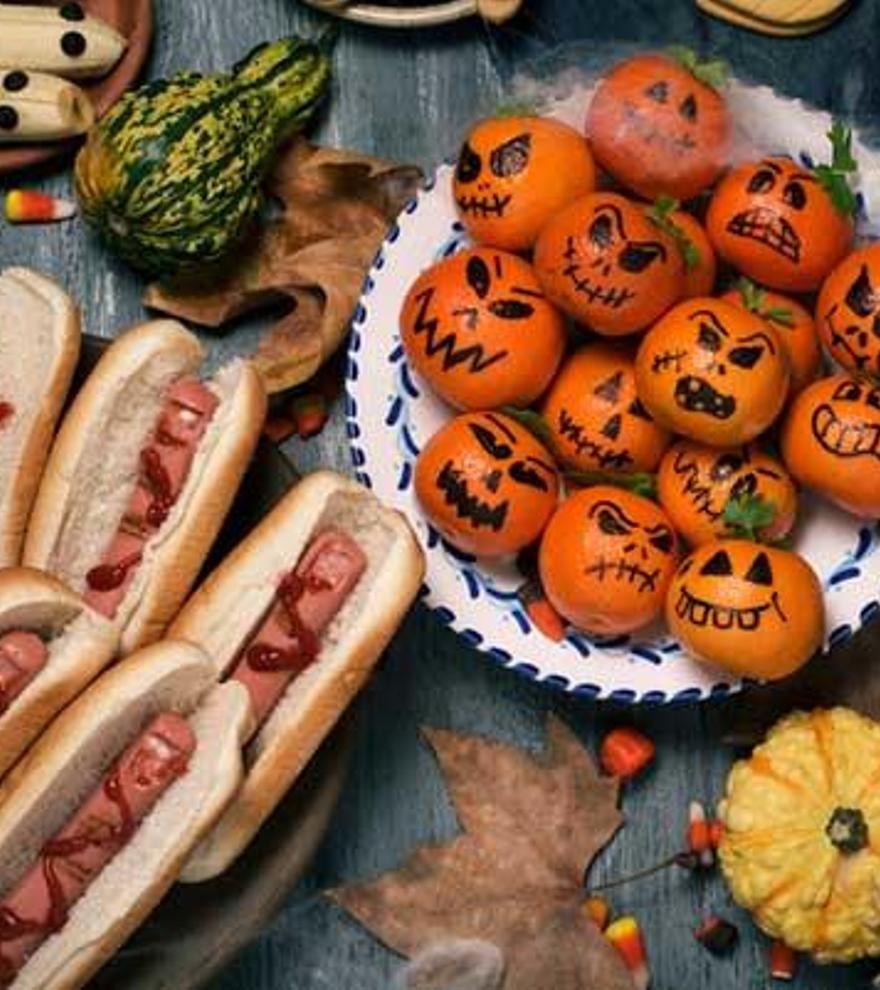 Ideas de comida para Halloween: recetas para una merienda terrorífica