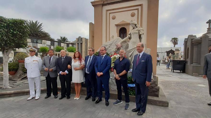 El Gobierno italiano homenajea  a los fallecidos del 'Sud América'