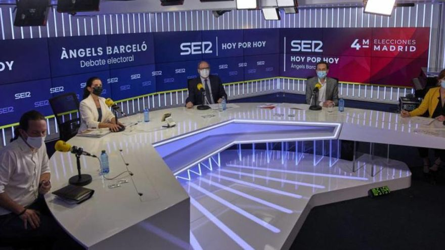 RTVE i laSexta cancel·len el debat electoral de Madrid per l'absència de «diversos candidats»