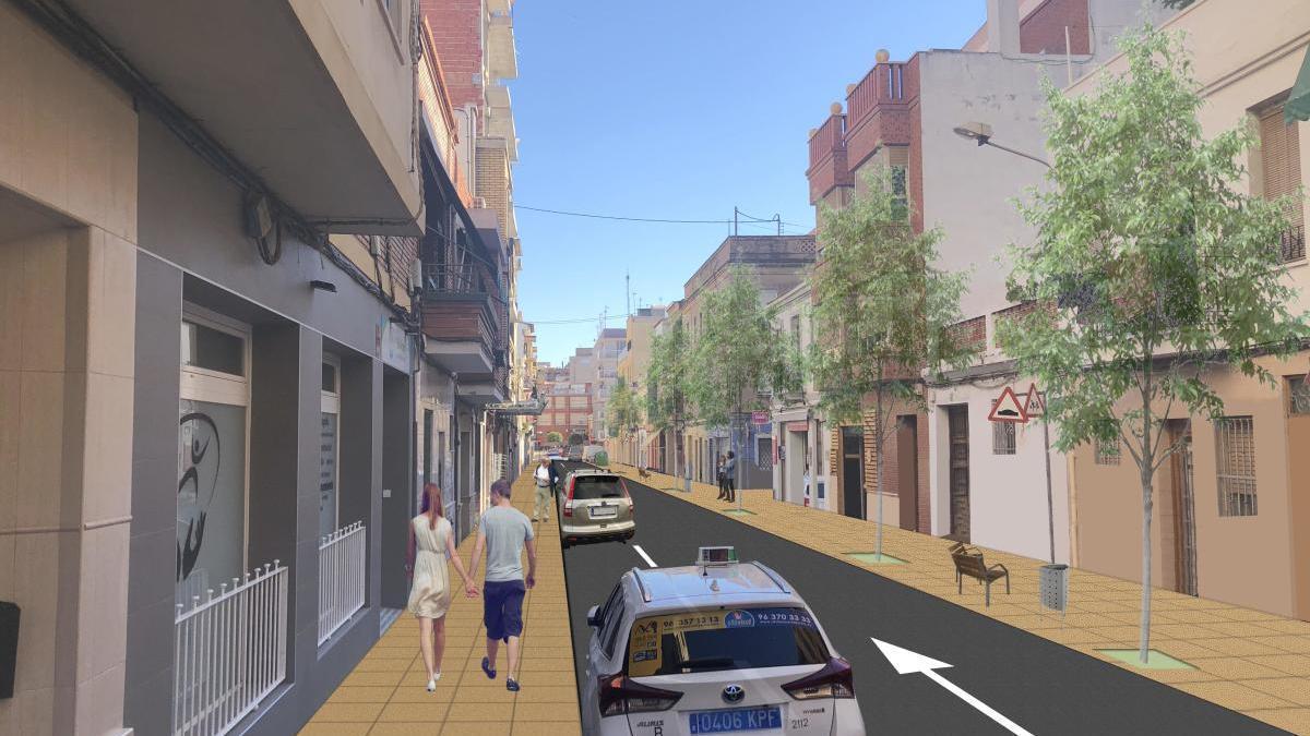 Mislata acometerá la peatonalización de los ejes céntricos de su casco urbano.