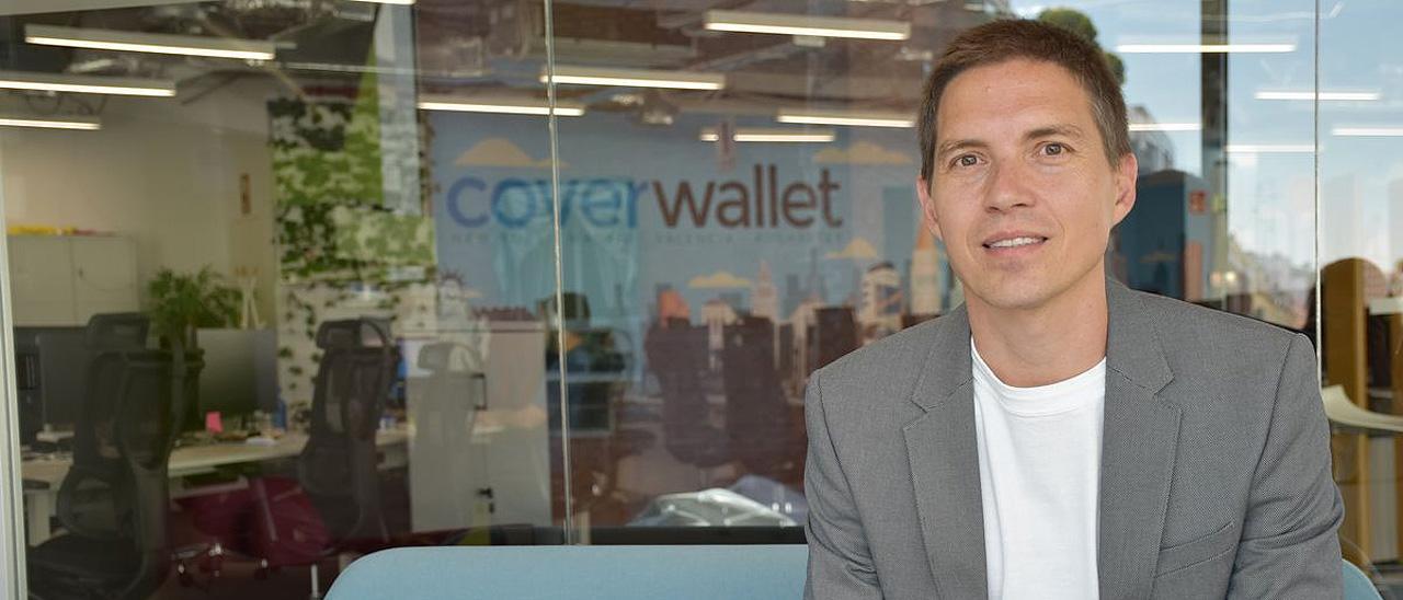 Iñaki Berenguer, CEO de Cover Wallet.