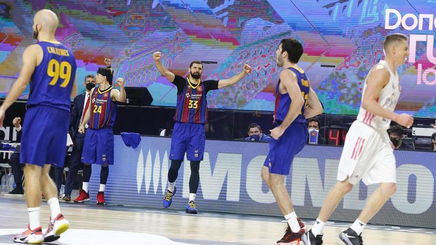 El Barça supera el Reial Madrid i guanya la Copa del Rei de bàsquet